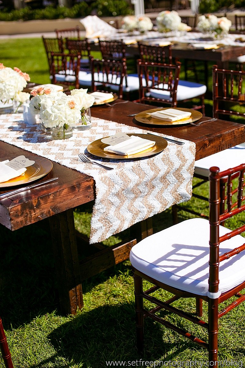 Outdoor chair rentals - Our Custom Wood Farm Table And Mahogany Chiavari Chairs Create Charming Outdoor Seating For Your Event Niche Event Rentals Naples Fl