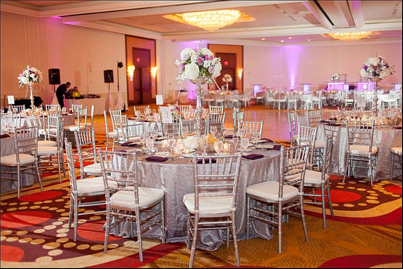 Silver Chiavari Rental Chairs And Round Tables Simple Stunning Elegant