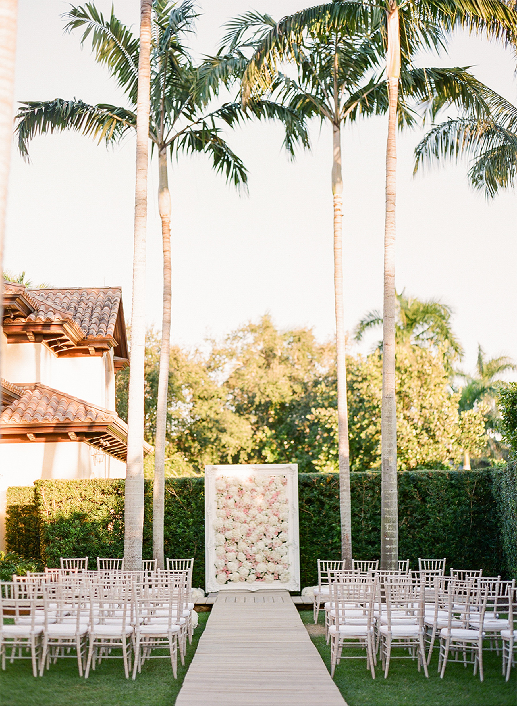 white washed chivari chairs naples wedding